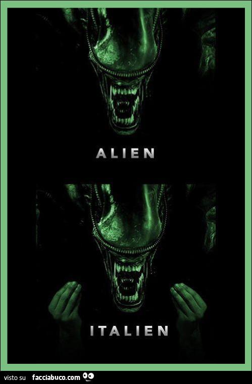Alien Italien
