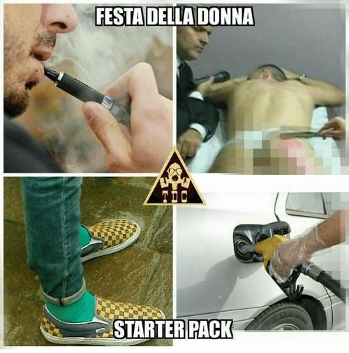 Festa Della Donna Starter Pack Facciabucocom