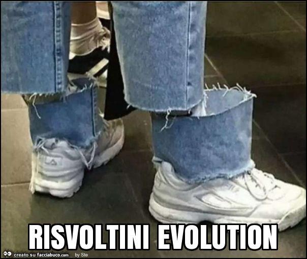 Risvoltini Evolution Facciabucocom