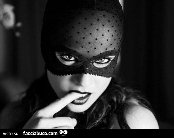 maschera solo bocca